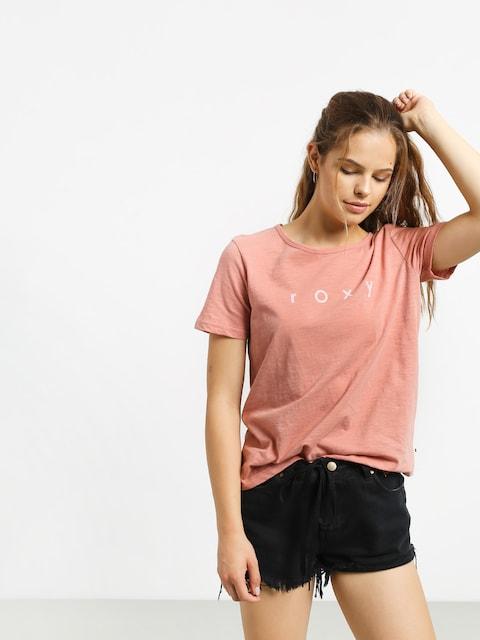 Roxy Red Sunset T-shirt Wmn (rosette)