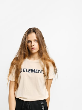 Element Logo T-shirt Wmn (white smoke)