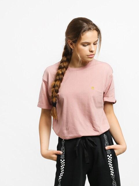 Carhartt WIP Chasy T-shirt Wmn (blush/gold)
