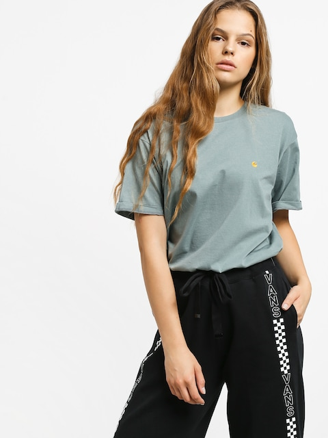 Carhartt WIP Chasy T-shirt Wmn (cloudy/gold)