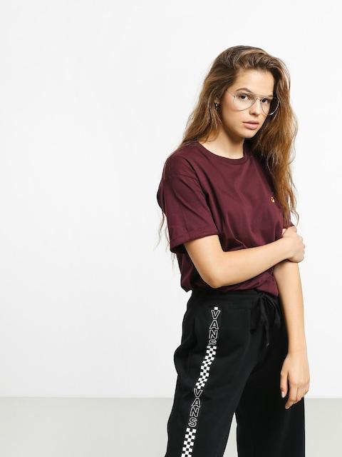 Carhartt WIP Chasy T-shirt Wmn (merlot/gold)