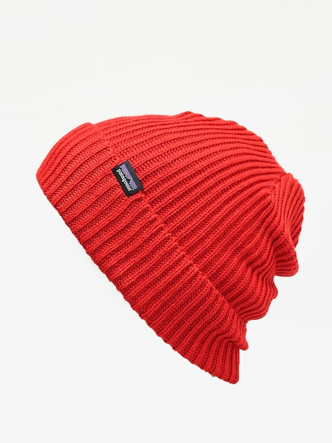 Patagonia Fishermans Rolled Beanie (rincon red)