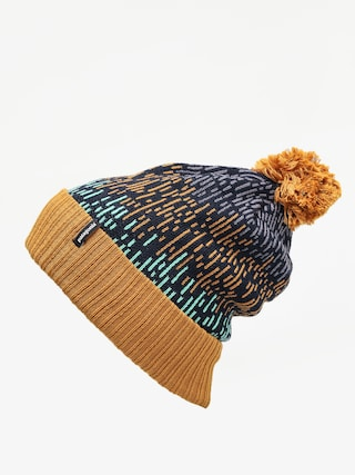 Patagonia Powder Town Beanie (melt down/hammonds gold)