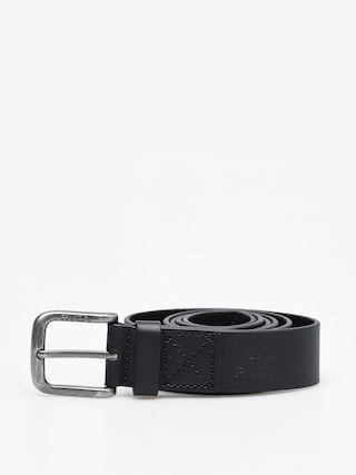 RVCA Truce Leather Belt (black)