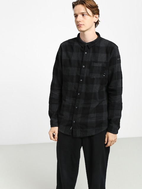 Quiksilver Motherfly Shirt (black motherfly)