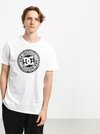 DC Circle Star T-shirt (snow white/black)