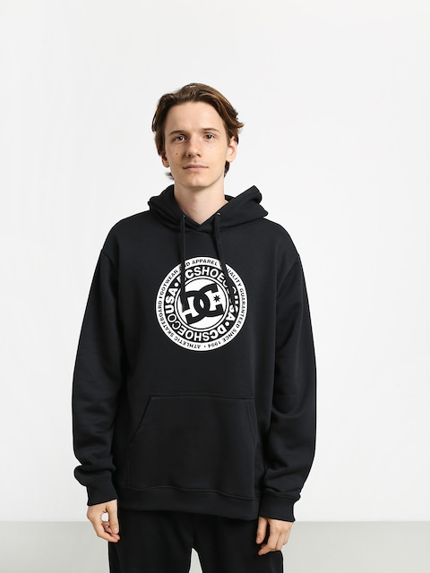 DC Circle Star HD Hoodie (black/white)