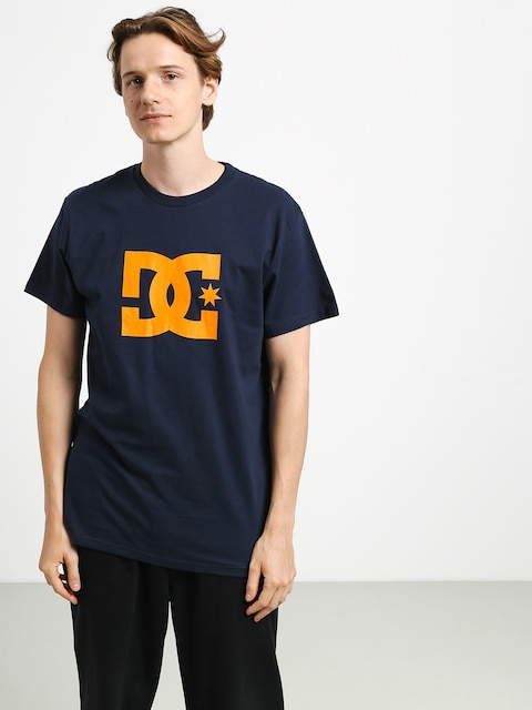 DC Star T-shirt (black iris/orange p)