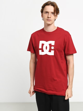 DC Star T-shirt (chili pepper/white)