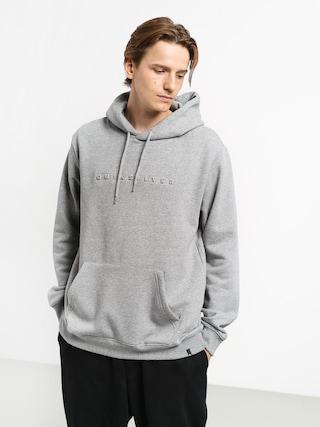 Quiksilver Emboss HD Hoodie (medium grey heather)
