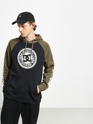 DC Circle Star HD Hoodie (black/fat gr/anti w)