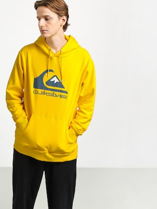 Quiksilver Omni Logo Screen Fleece HD Hoodie (sulphur)