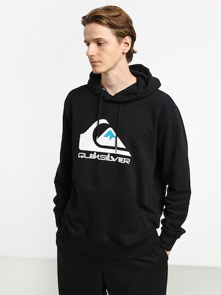 Quiksilver Omni Logo Screen Fleece HD Hoodie (black)