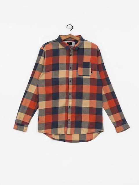 Quiksilver Motherfly Shirt (burnt brick motherfly)