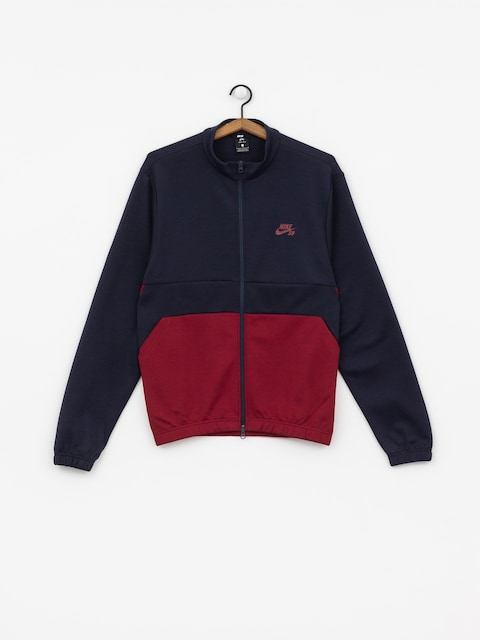 Nike SB Dry Track Jacket (obsidian/team red/obsidian/team red)