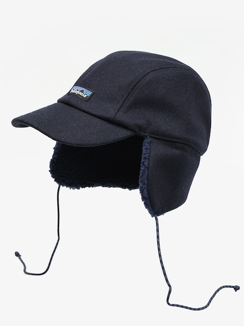Patagonia Recycled Wool Ear Flap ZD Cap (classic navy)