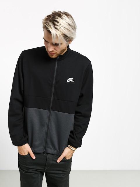 Nike SB Dry Track Sweatshirt (black/anthracite/black/white)