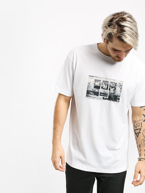 K1x NY Subway T-shirt (white)