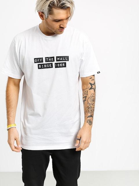 Vans X Baker T-shirt (white)