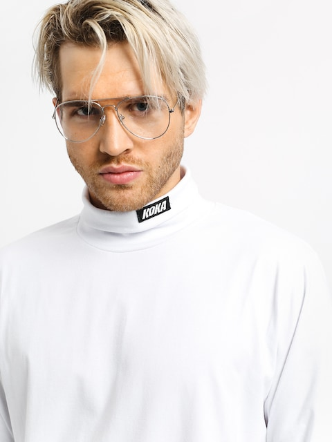 Koka Turtleneck Longsleeve (white)