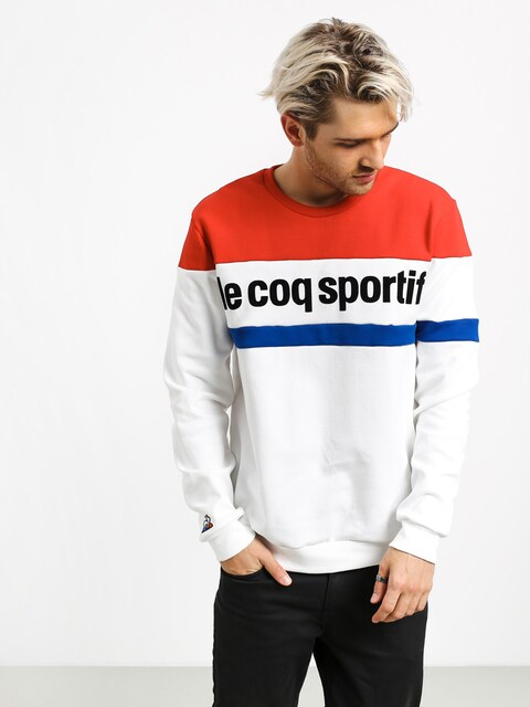 Le Coq Sportif Crew N1 Sweatshirt (new optical white)