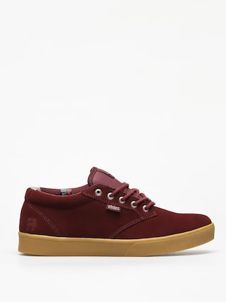 Etnies Jameson Mid Crank Shoes (burgundy/gum)