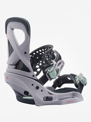 Burton Lexa Est Snowboard bindings Wmn (lilac gray)