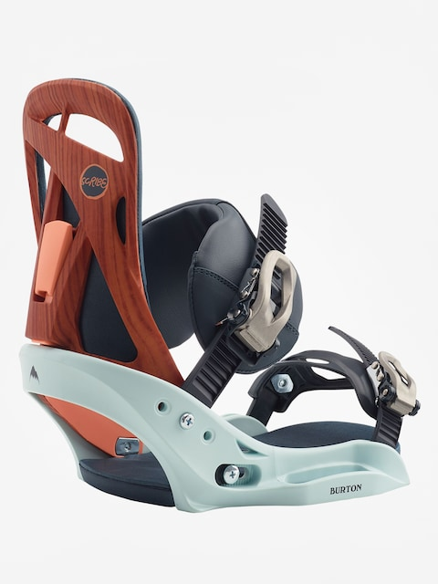 Burton Scribe Est Snowboard bindings Wmn (wood grain jane)