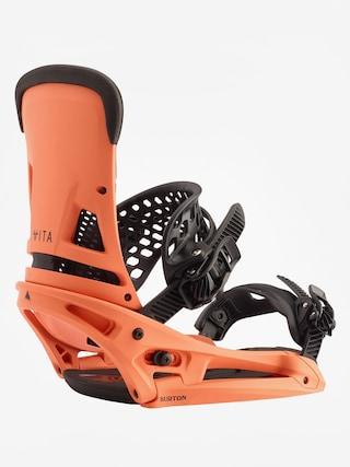Burton Malavita Est Snowboard bindings (spicy salmon)