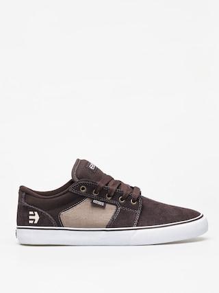 Etnies Barge Ls Shoes (brown/tan/gum)