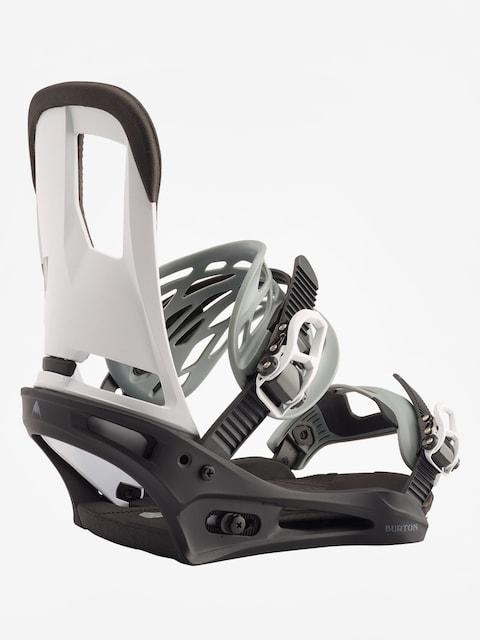 Burton Cartel Snowboard bindings (black/white)