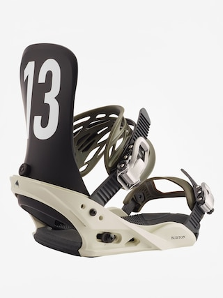 Burton Mission Snowboard bindings (off white/black)