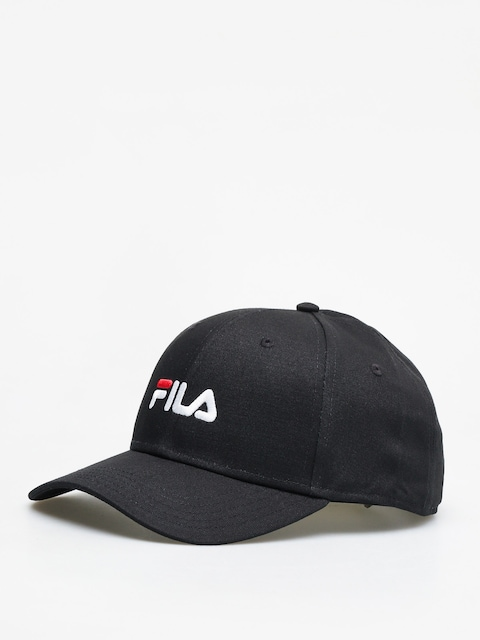 Fila 6 Panel Linear Logo Cap (black)