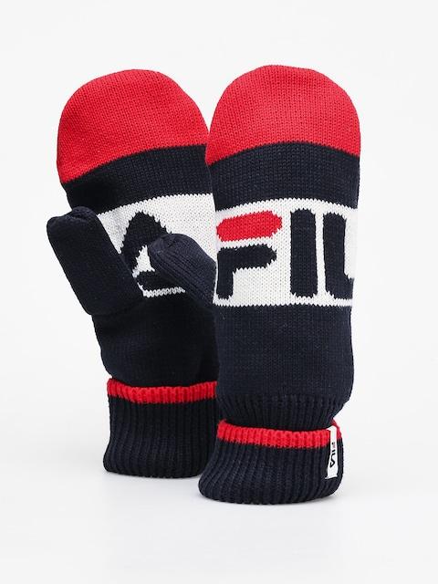 Fila Intarsia Gloves (black iris/true red/bright white)
