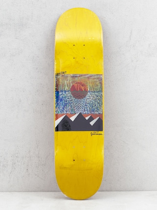 Youth Skateboards Pyramids Deck (yellow)