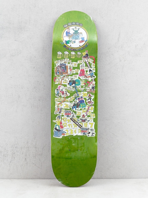 Youth Skateboards The Game Deck (green)