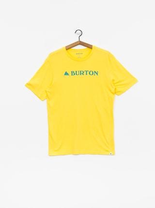 Burton Horizontal Mtn T-shirt (maize)
