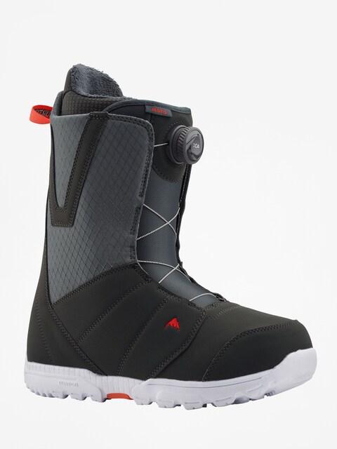 Burton Moto Boa Snowboard boots (gray/red)