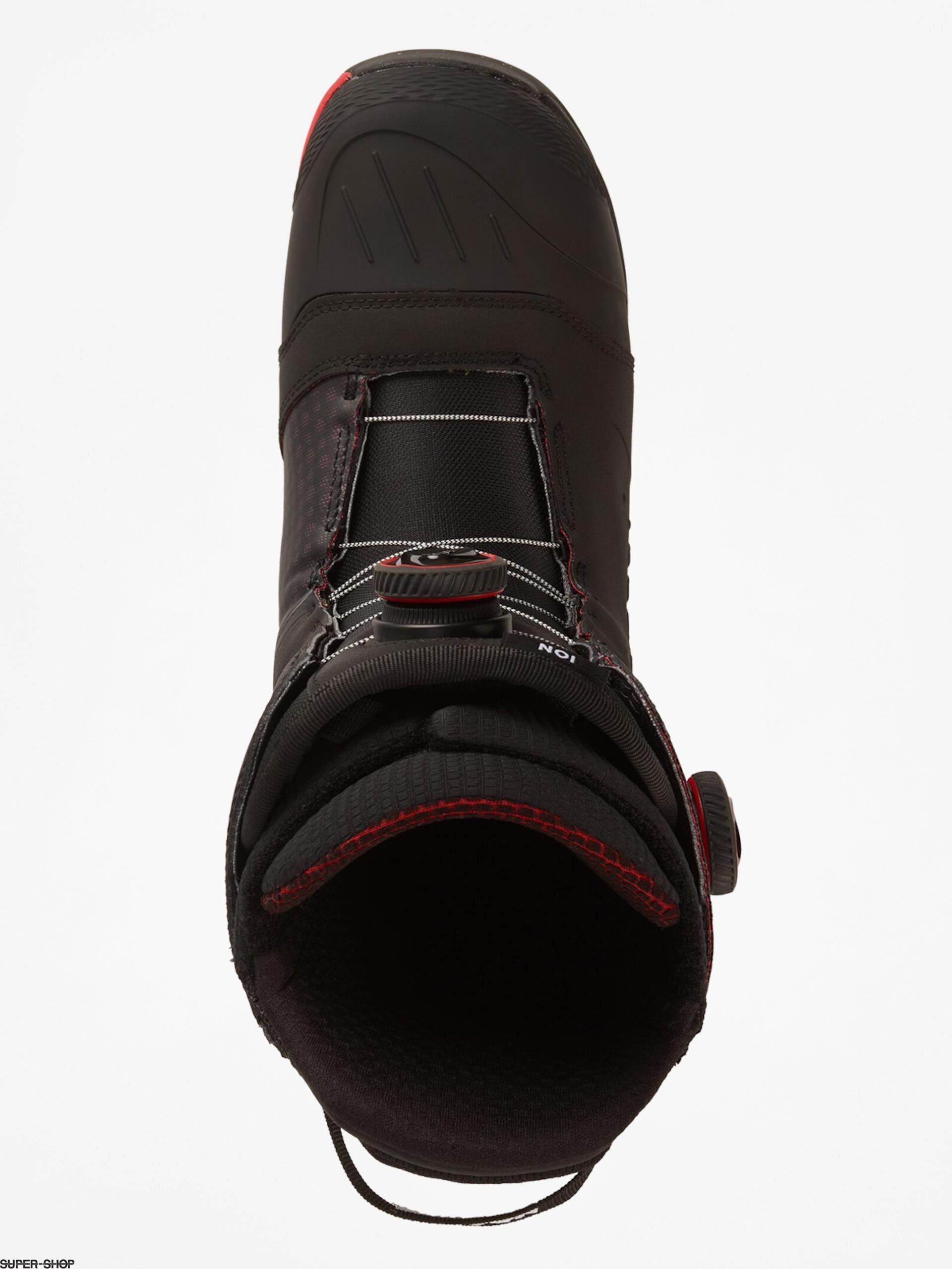 2020 Burton Ion Mens Black//Red Snowboard Boots