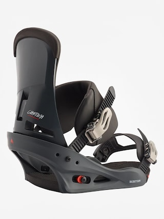 Burton Custom Snowboard bindings (blue/red)