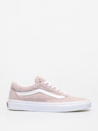 Vans Old Skool Shoes (pig suede/shadow gray/true white)