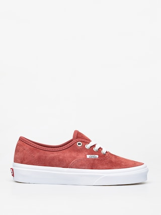 Vans Authentic Shoes (pig suede/brnt brcktrwht)