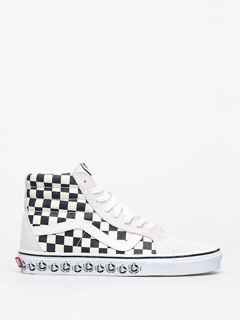 Vans Sk8 Hi Reissue Shoes (vans bmx/white/black)