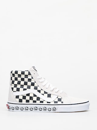 Vans Sk8 Hi Reissue Shoes (vans bmx/white/black)