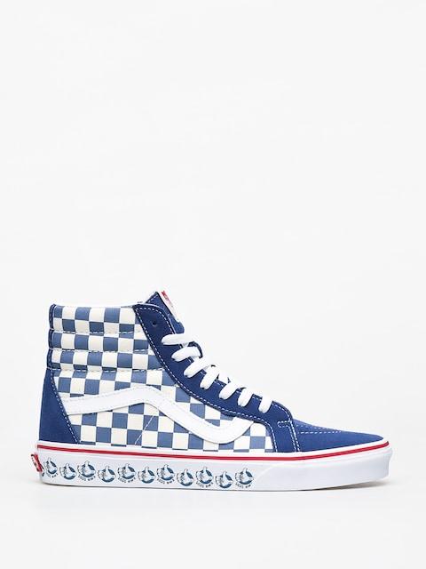 Vans Sk8 Hi Reissue Shoes (vans bmx/true navy/white)