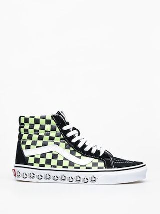 Vans Sk8 Hi Reissue Shoes (vans bmx/blk/sharp green)