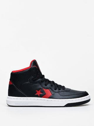 Converse Rival Mid Shoes (black/enamel red)