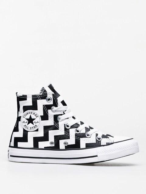 Converse Chuck Taylor All Star Hi Chucks Wmn (white/black/white)