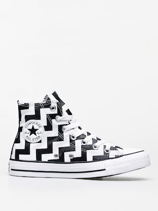 Converse Chuck Taylor All Star Hi Chucks Wmn (white/black/white)