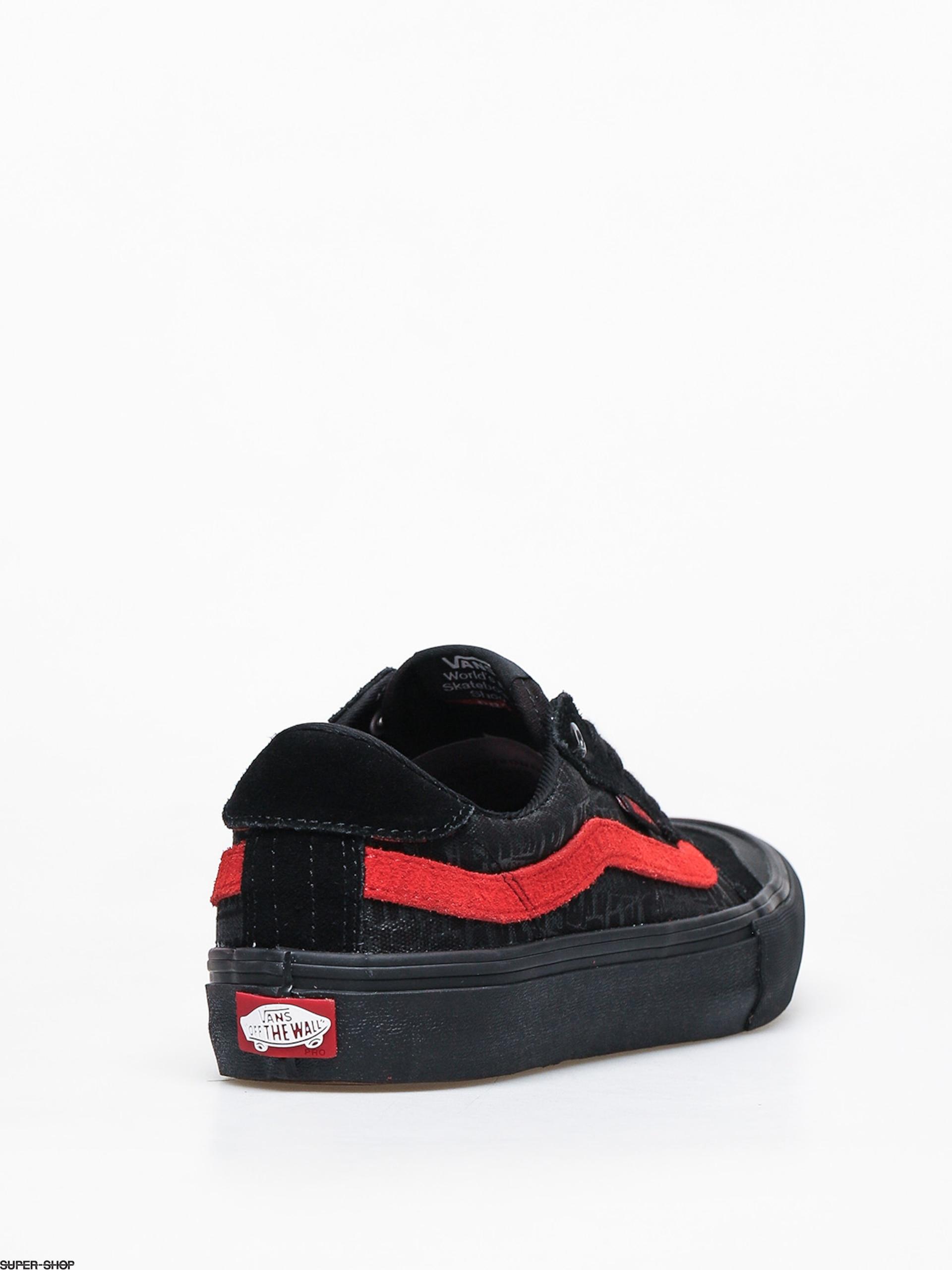 Vans Style 112 Pro Shoes (black/black/red)